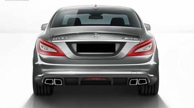 Mercedes Benz CLS63 W218 AMG Rear Bumper Diffuser