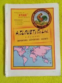 119 Antik iklan lama bata dr majalah 1953