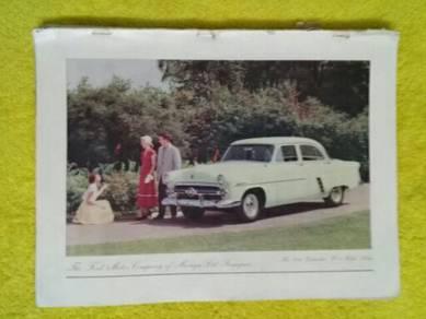 119 Antik iklan lama ford dari majalah 1953