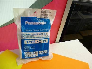 New Panasonic Vacuum Cleaner DUST BAG type C-13