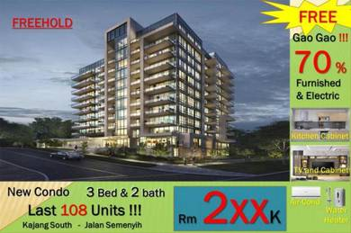 Kajang South New Project [Come With Furnished] Kajang, Jalan Semenyih