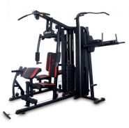 FIVE station multipurpose gym heavy duty NEW