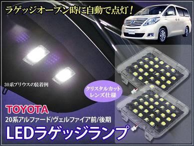 Toyota vellfire alphard Luggage Boot led light