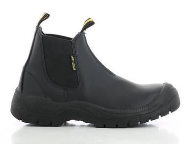 Shoe Safety Jogger Bestfit Black ST PU Elastic Mid
