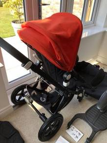 Bugaboo cameleon baby stroller pink good condition