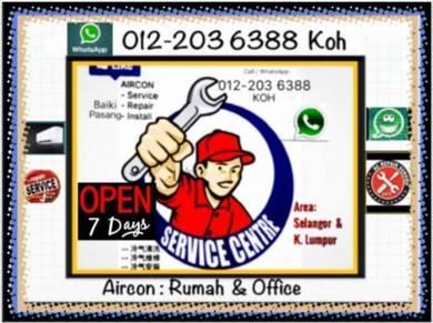 Aircon KL/SEL AIRCOND Pro - Bukit Jalil & others