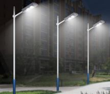 80w LED Street Lamp with Solar Panel