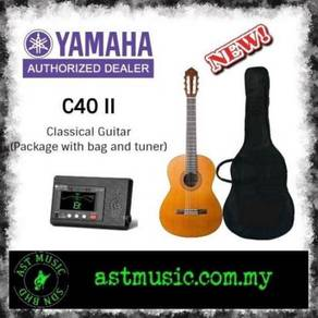 Yamaha C40 c40 V2 Classical Guitar Pack