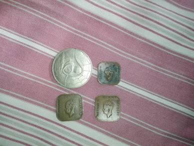 Syiling lama king george VI