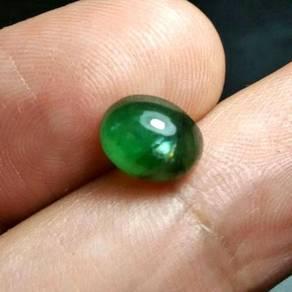 Batu Zamrud Zambia Asli | Emerald E28