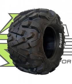 Atv Tyre 25 x 10.00 - 12