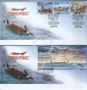First Day Cover IDBF Dragonboat Malaysia 2008