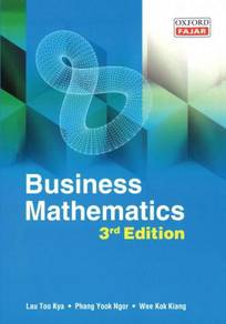 Business Mathematics 3rd Edition