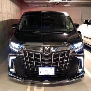 TOYOTA 2019 Alphard facelift FRONT conversion SET