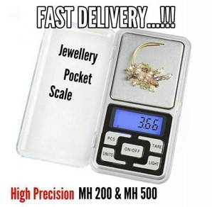 HS Portable Jewellery Digital Pocket Scale (18A)
