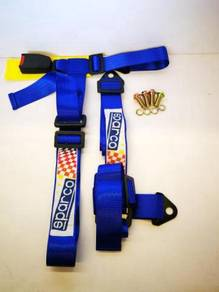 Sparco Racing Seat Belt 3 Point Safety Universal