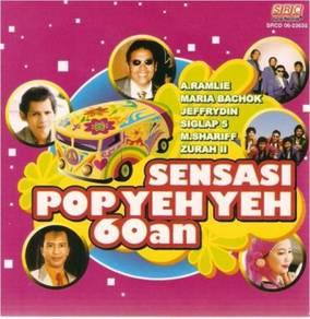 Sensasi Pop Yeh Yeh 60an CD A.Ramlie Maria Bachok