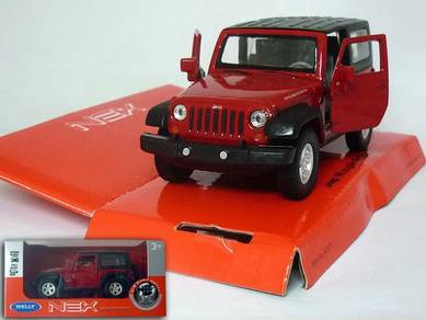 JEEP WRANGLER RUBICON 1/38 model car