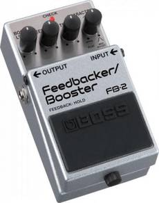 Boss FB-2 Feedbacker and Booster Effects Pedal
