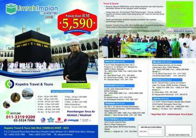 Umrah promo april full package