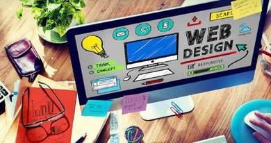 Website design, e-commerce, online shopping web
