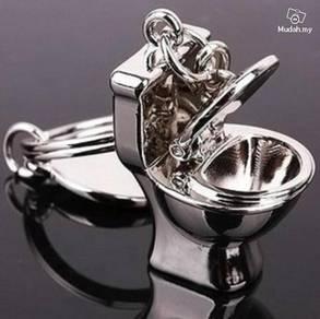 ABKSM-T001 Toilet Niche Stool Silver Metal 3D Key