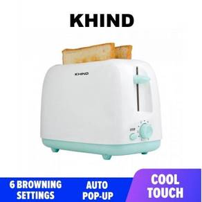 Khind BT808 Bread Toaster Roti 2Slices With COVER