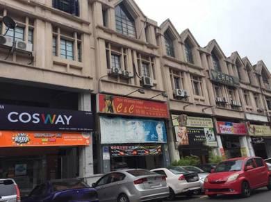 Sri Damansara Desa Aman Puri 4 Storey Corner Shop Lot Freehold