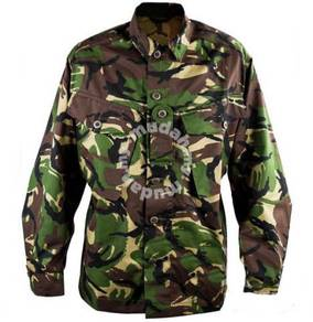 UK Jungle Camouflage Combat Uniform Jacket C95
