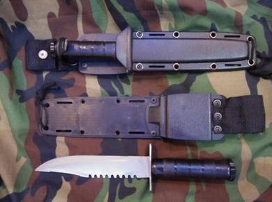 Komando Pisau Army Knife Askar Commando Knifes