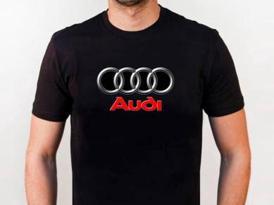 Tshirt Baju AUDI TSV Siap poslaju