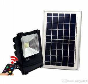 100W LED Floodlight with Solar Panel