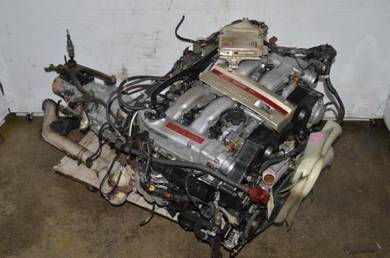 Vg30dett twin turbo nissan 300zx z32 engine 5speed