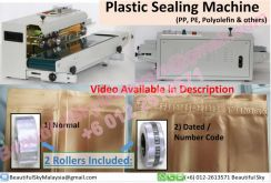 Sealing Machine Heavy Duty Plastic Seal Bag *Video