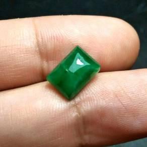 Batu Zamrud Zambia Asli | Emerald E21
