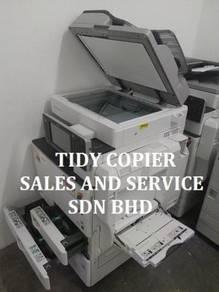 Machine color copier mpc5502 for sale