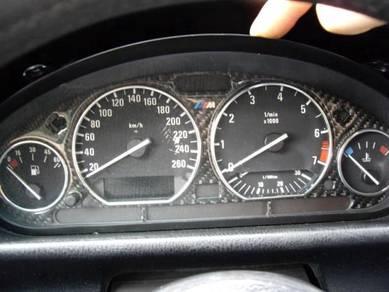 BMW Carbon Fiber Speedo Meter Dial Panel Bazel