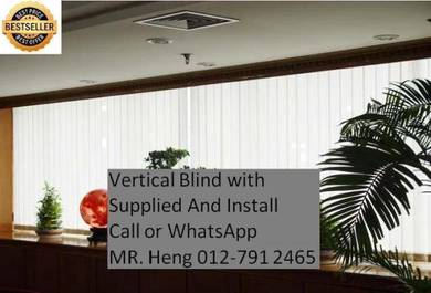 BestSeller Vertical Blind - With Install g76fi8ih