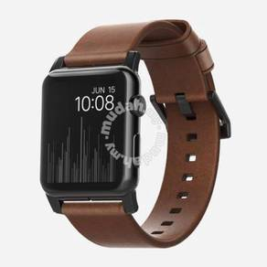 NOMAD Modern Leather Strap for Apple Watch 42MM