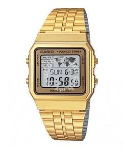Watch - Casio A500WGA-9 GOLD - ORIGINAL