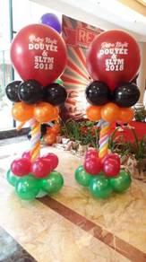 Pillar arch balloon,bust balloon