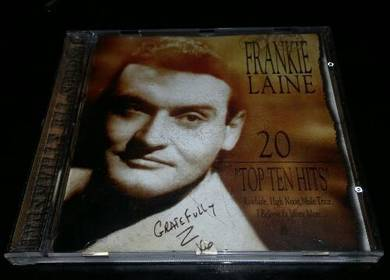 FRANKIE LAINE - 20 TOP TEN HITS Cd