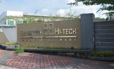 CORNER LOT Semi D Factory HI Tech 5 Jalan Sg Lalang Semenyih