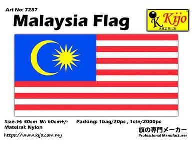 90x180cm nylon malaysia flag