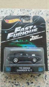 HotWheels Retro '70 Dodge Charger Fast & Furious