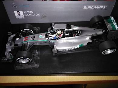 Minichamps Mercedes AMG W05 Australian GP Hamilton