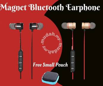 Magnet Wireless Earphone free small pouch M99