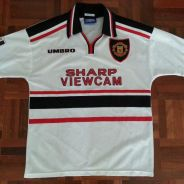 Authentic Manchester United 1997-1999 jersey jersi