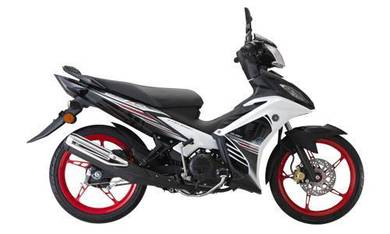 New Yamaha 135LC 135 LC AUTO LOW RATE FREE 11 GIFT