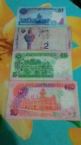 Malaysia old money n coin